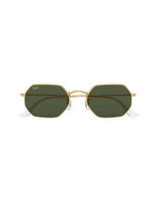 Ray-Ban Octagonal occhiali da sole RB3556 / 919631 Colore oro