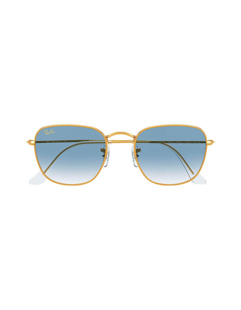 Ray-Ban Frank occhiali da sole RB3857 / 91963F Colore oro-azzurro