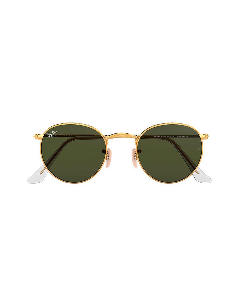 Ray-Ban Round Metal occhiali da sole RB3447 / 001 Colore oro
