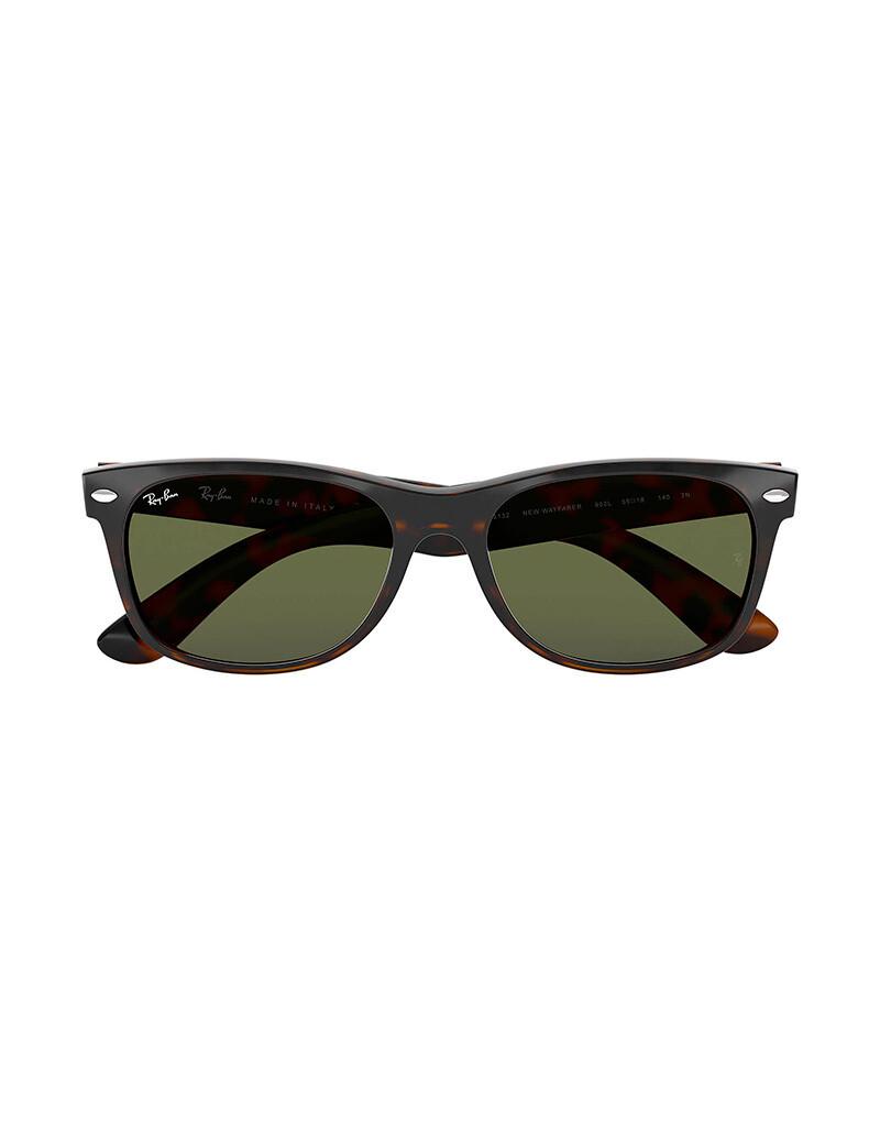 Ray-Ban New Wayfarer occhiali da sole RB2132 / 902L Colore marrone
