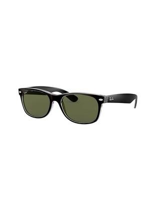 Ray-Ban New Wayfarer Color Mix occhiali da sole RB2132 / 6052 Colore nero