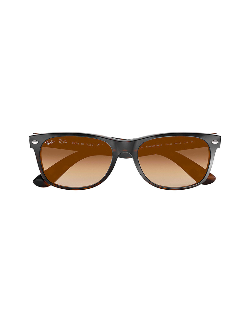 Ray-Ban New Wayfarer occhiali da sole RB2132 / 710/51 Colore marrone
