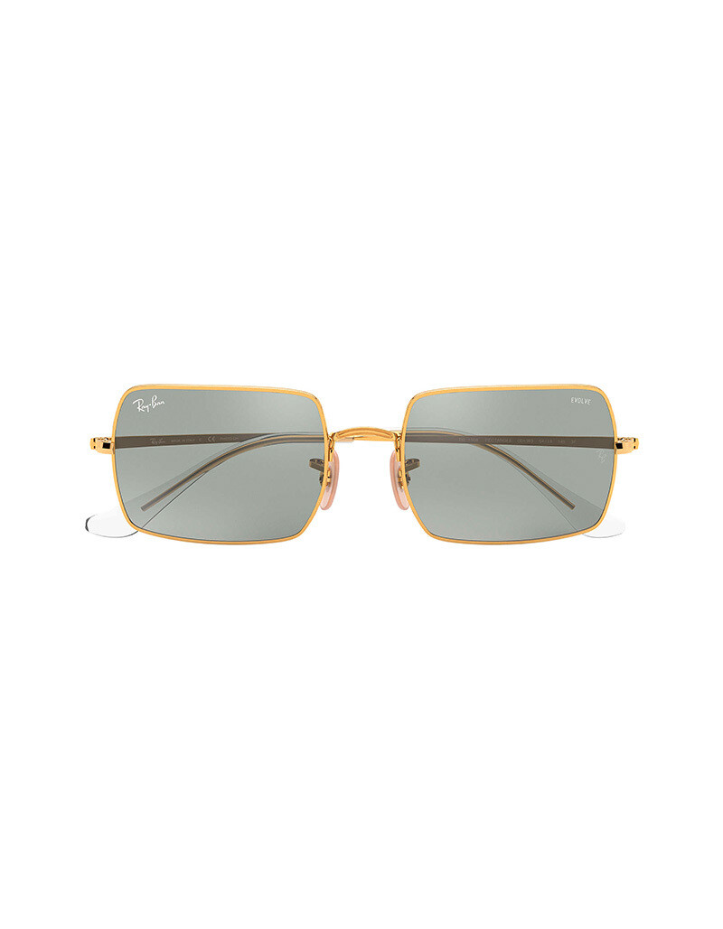 Ray-Ban Rectangle 1969 Mirror Evolve RB1969 / 001/W3 Colore oro