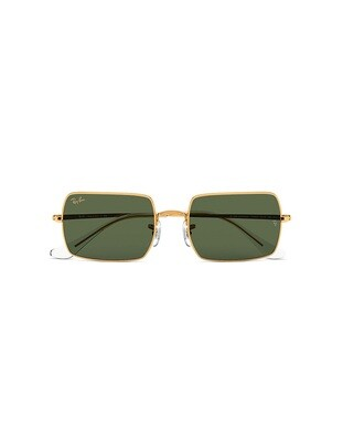 Ray-Ban Rectangle 1969 Legend Gold RB1969 / 919631 Colore oro - verde