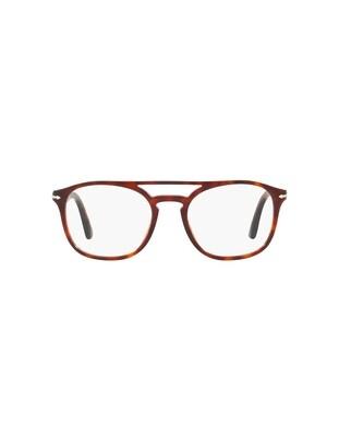 Persol occhiali da vista da uomo PO3175V / 9015 Colore marrone