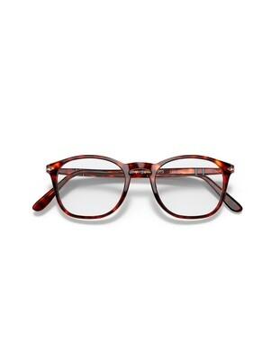 Persol occhiali da vista da uomo PO3007V / 24 Colore marrone
