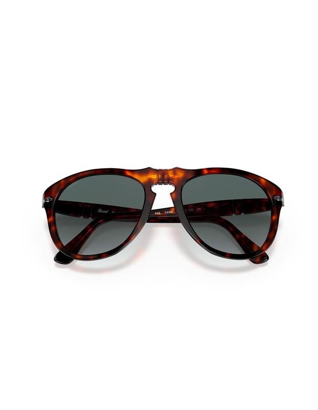 Persol occhiali da sole da uomo PO0649 /24/86 Colore marrone - grigio sfumato
