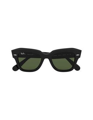 Ray-Ban State Street occhiali da sole RB2186 / 901/31 Colore nero