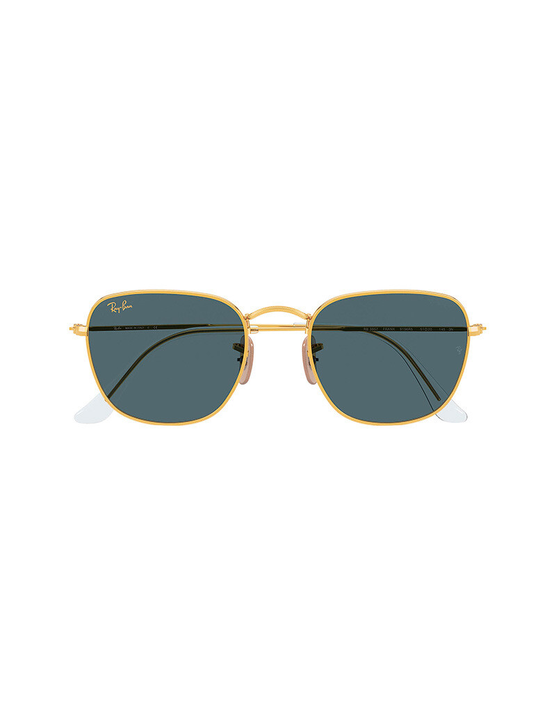 Ray-Ban Frank occhiali da sole RB3857 / 9196R5 Colore oro-blu