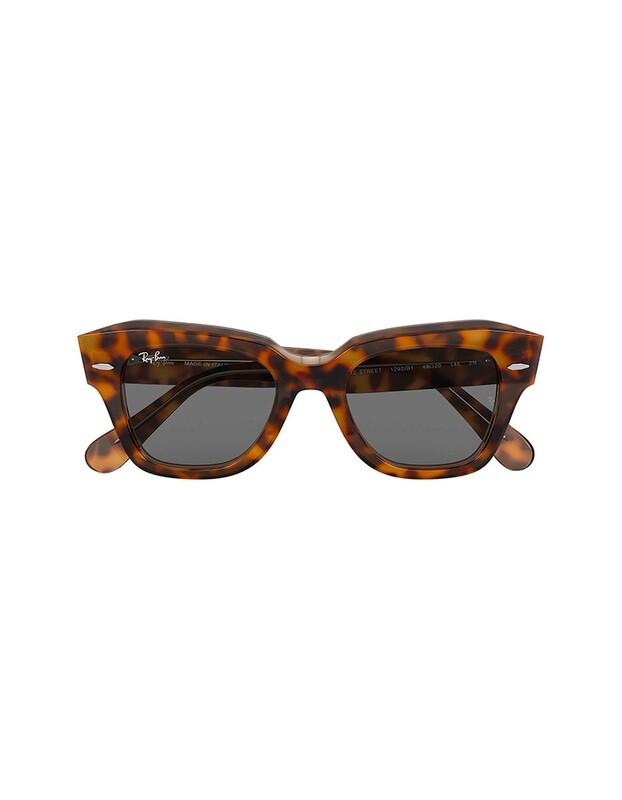 Ray-Ban State Street occhiali da sole RB2186 / 1292B1 Colore marrone