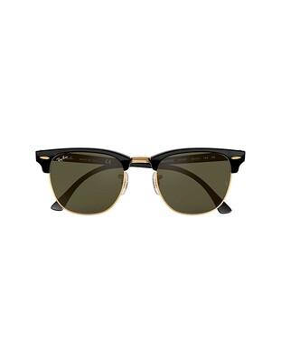 Ray-Ban Clubmaster Classic occhiali da sole RB3016 / W0365 Colore nero - verde