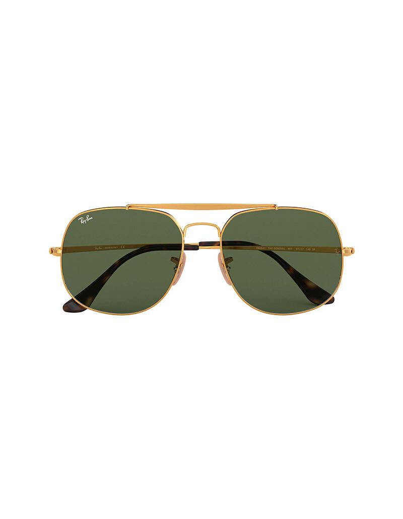 Ray-Ban General occhiali da sole RB3561/ 001 Colore oro - verde