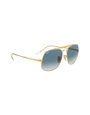 Ray-Ban General occhiali da sole RB3561/ 001 Colore oro - blu sfumato