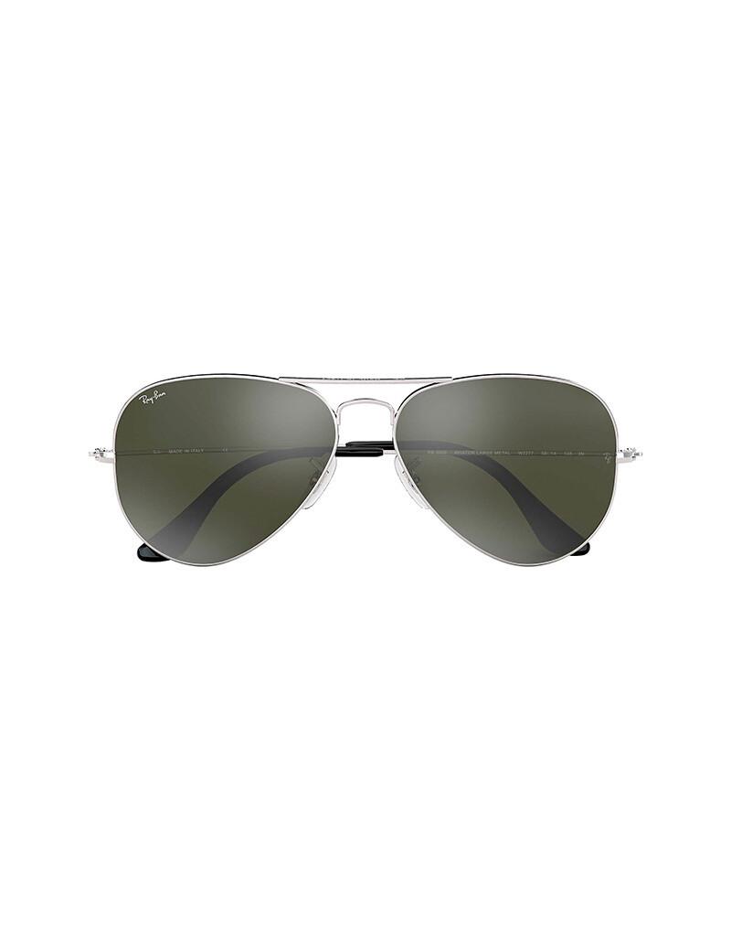 Ray-Ban Aviator Mirror occhiali da sole RB3025 / W3277 Colore argento - argento specchiata