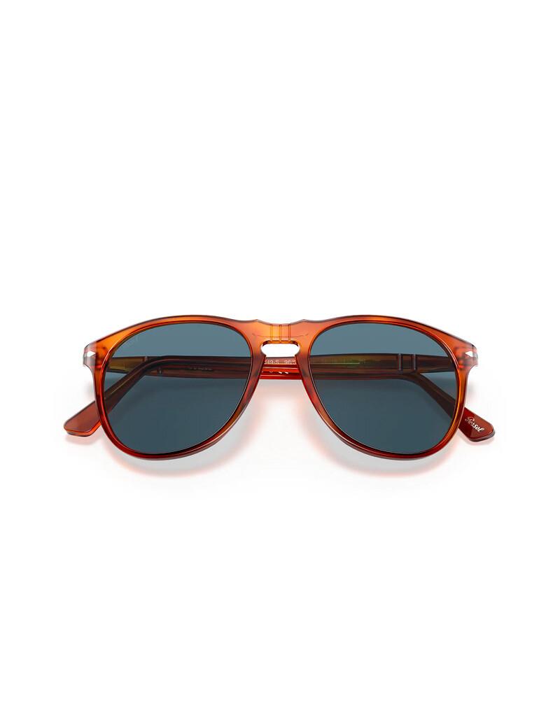 Persol occhiali da sole da uomo PO9649S / 96/56 Colore marrone - blu