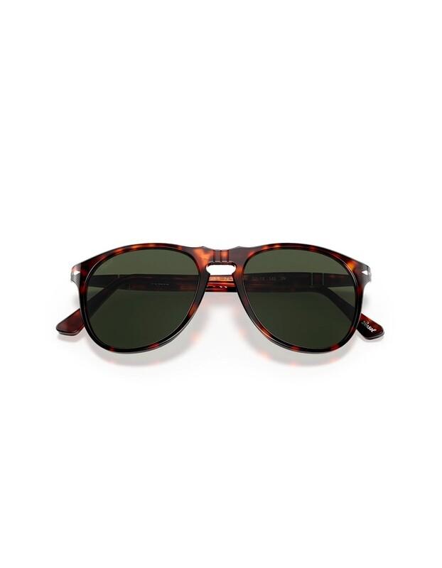 Persol occhiali da sole da uomo PO9649S / 24/31 Colore marrone - verdi
