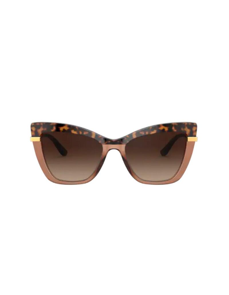 Dolce & Gabbana occhiali da sole da donna DG4374 / 325613 Colore marrone