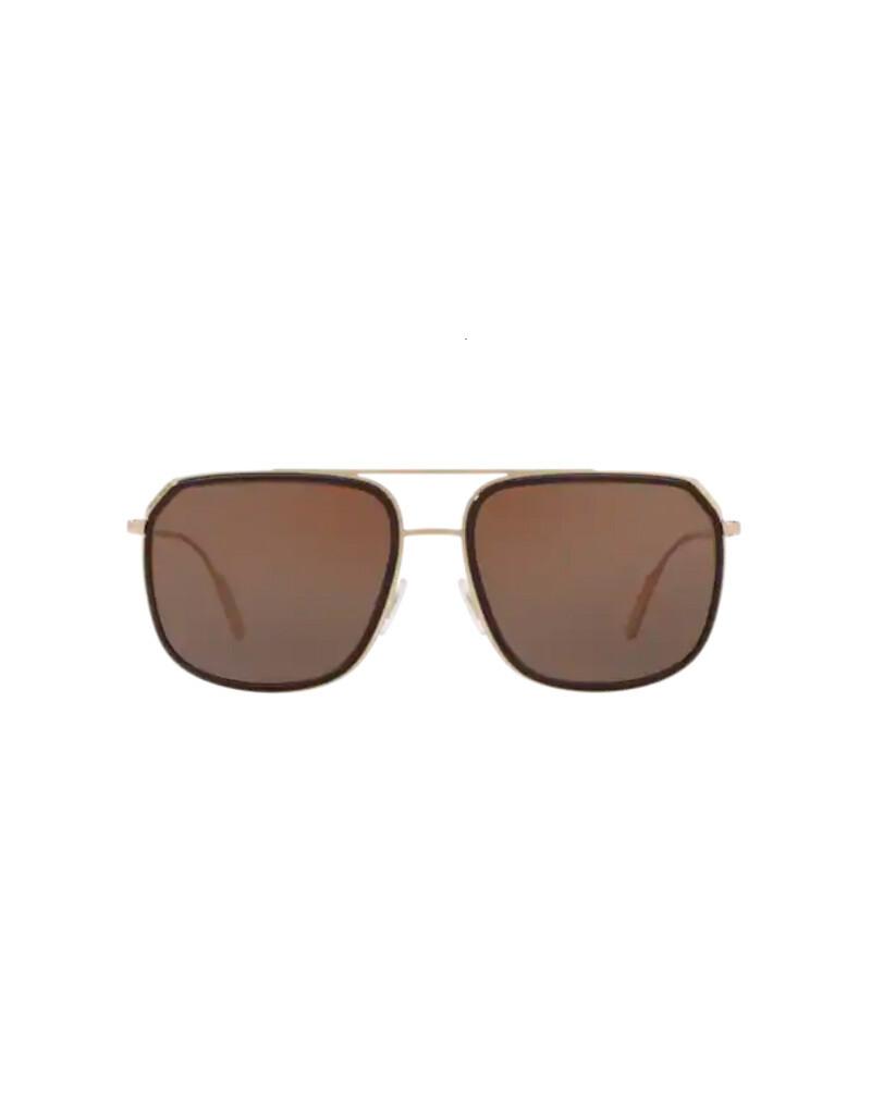 Dolce & Gabbana occhiali da sole da uomo DG2165 / 488/73 Colore oro - marrone