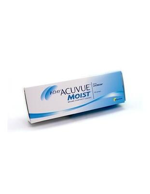 1-Day Acuvue Moist - lenti a contatto giornaliere (30 lenti)
