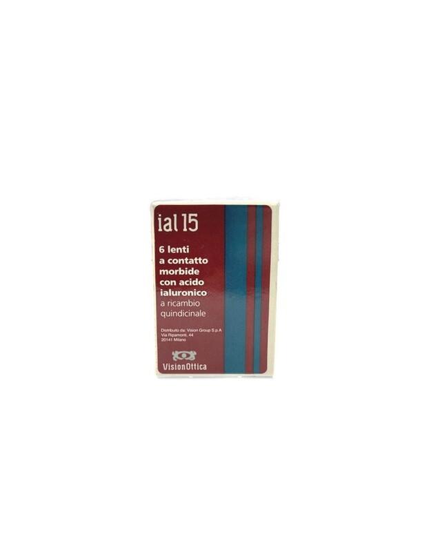 IAL 15 con acido ialuronico - lenti a contatto quindicinale (6 lenti)