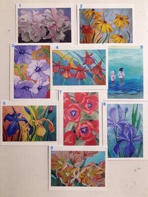 Art Cards (bundles of 5)
