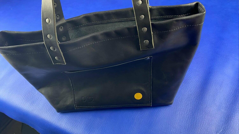 Black Tote - Handbag