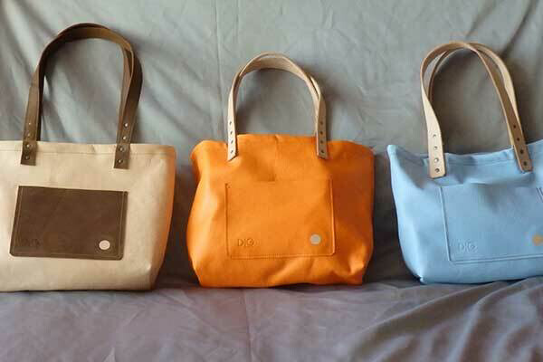 Tote - Natural Tan with Rich Brown