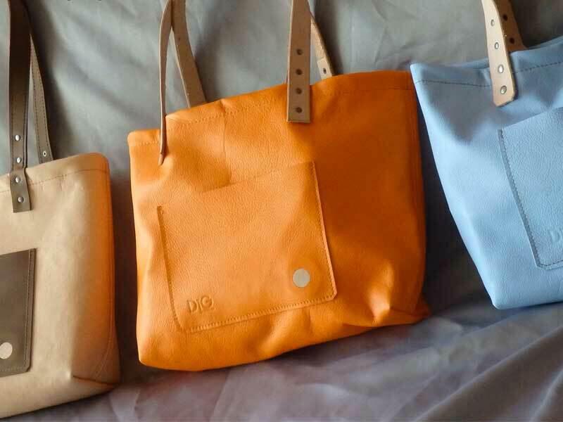 Tote - Vibrant Orange