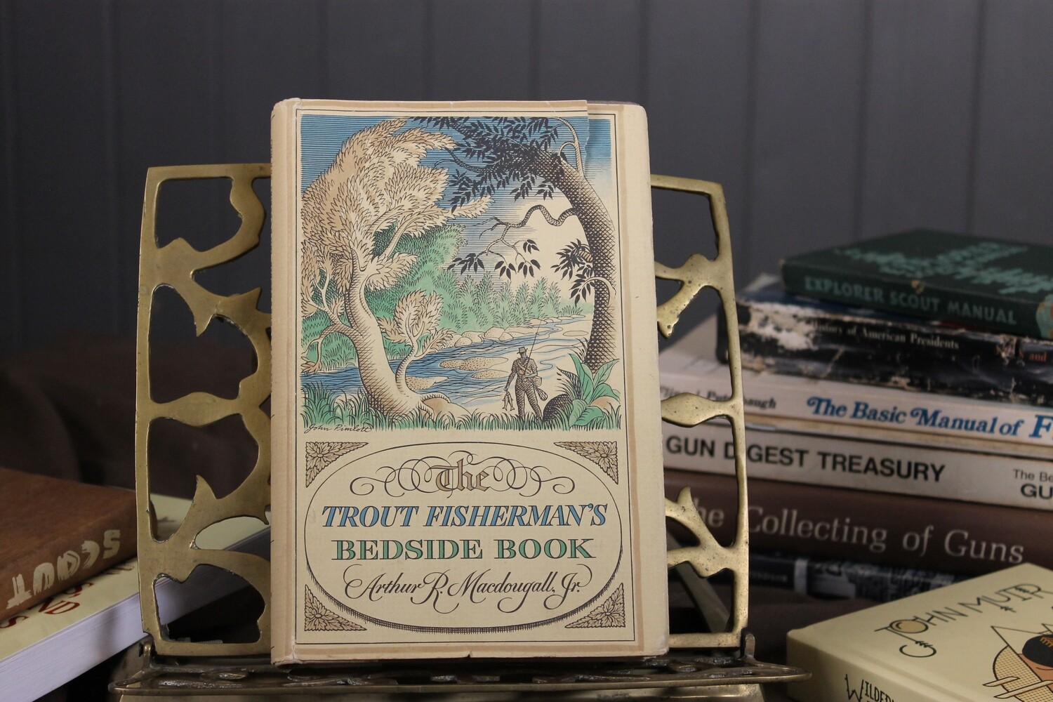 The Trout Fisherman's Bedside Book by Arthur R. Macdougall Jr.