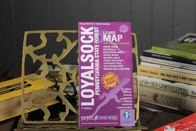 Loyalsock Purple Lizard Map