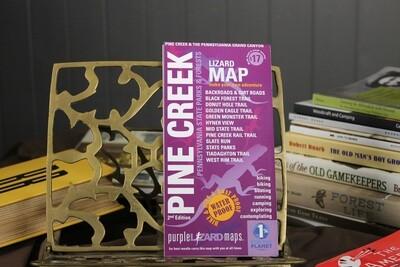 Pine Creek Purple Lizard Map