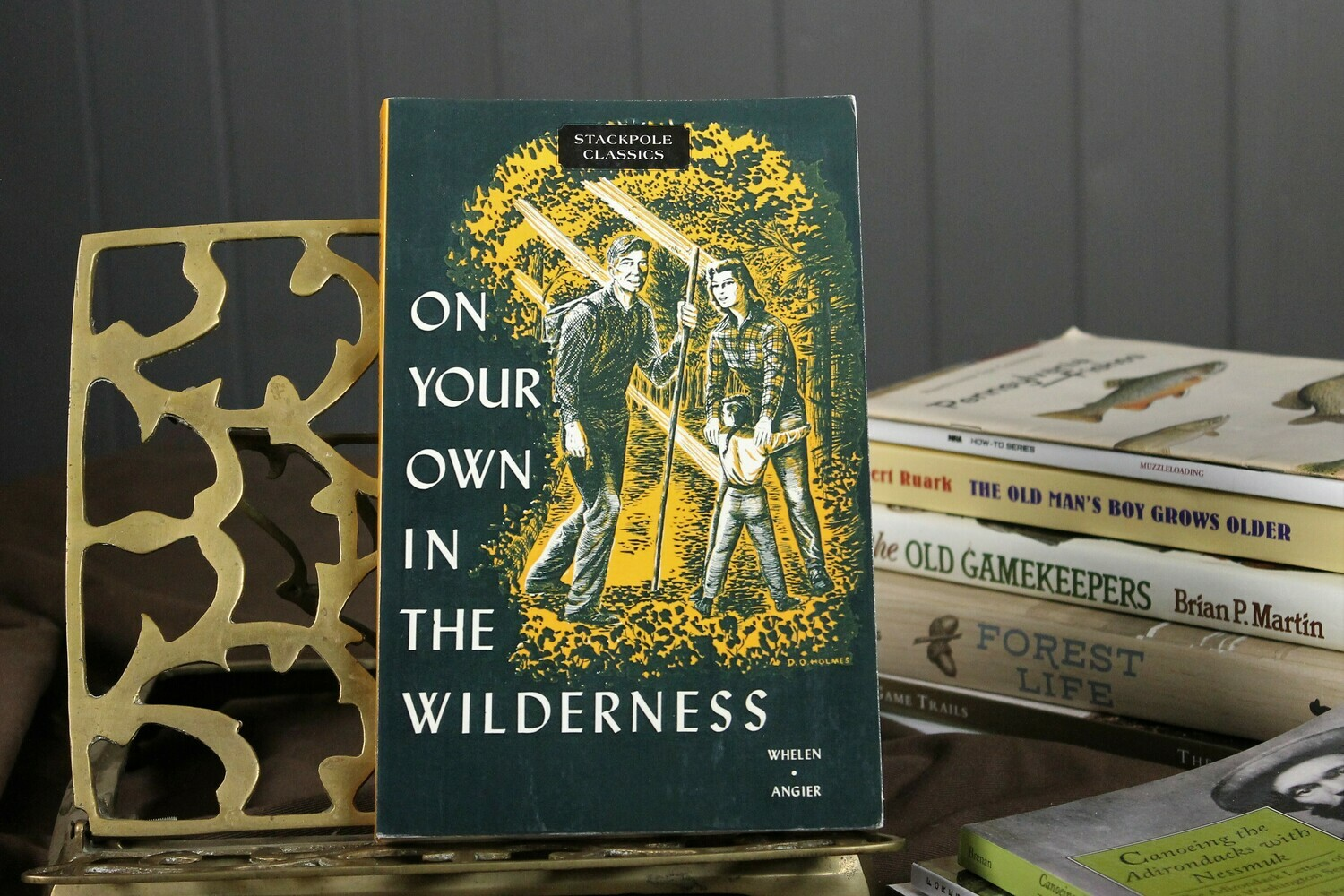 On Your Own in the Wilderness by Wheelen & Angier