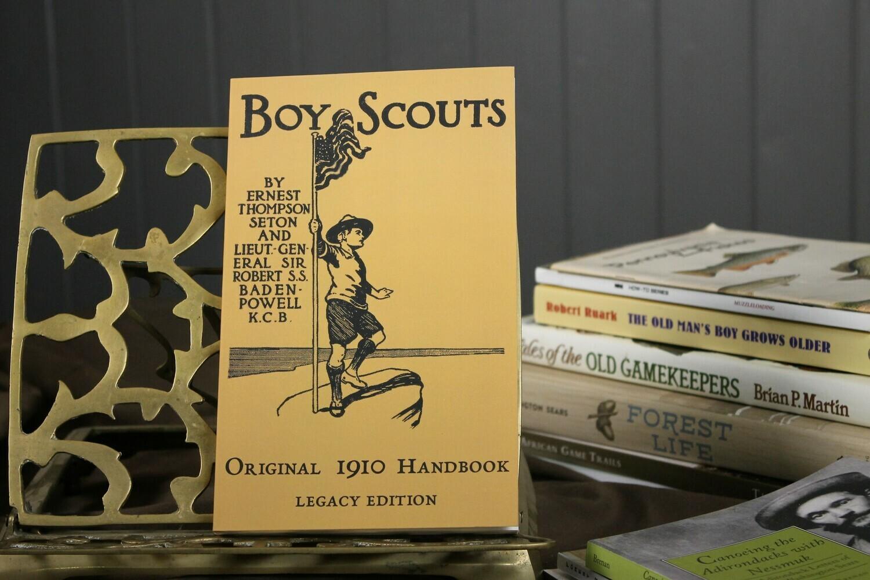 Boy Scouts Original 1910 Handbook Legacy Edition