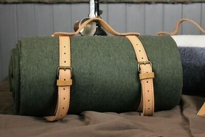 Green Wool Bedroll