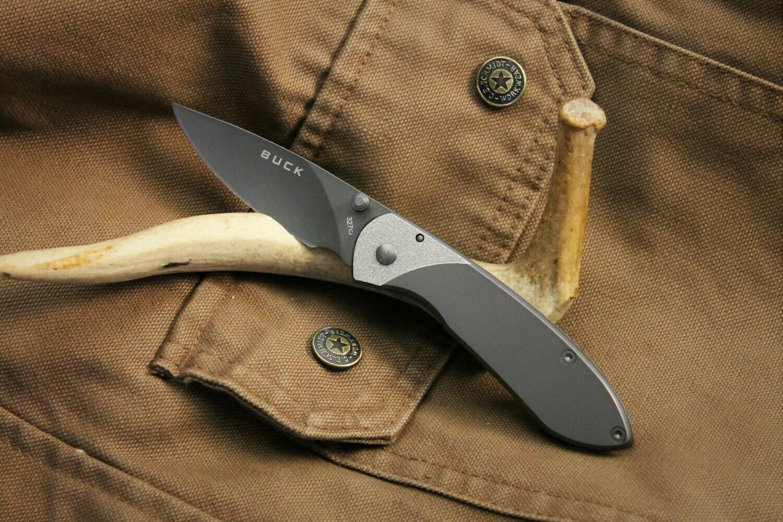 Framelock Titanium Buck Knife