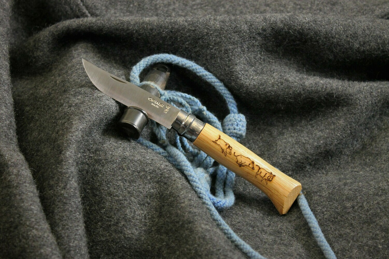 Opinel Boar Folder Knife