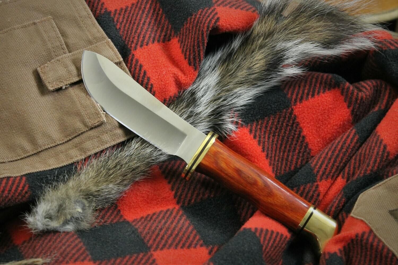 Skinner Cocobolo Dymondwood Buck Knife