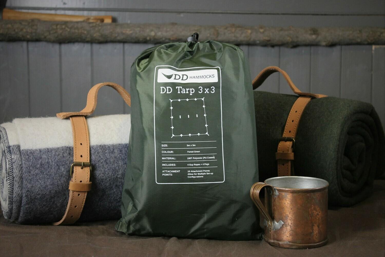 DD Tarp 3x3 in Olive Green