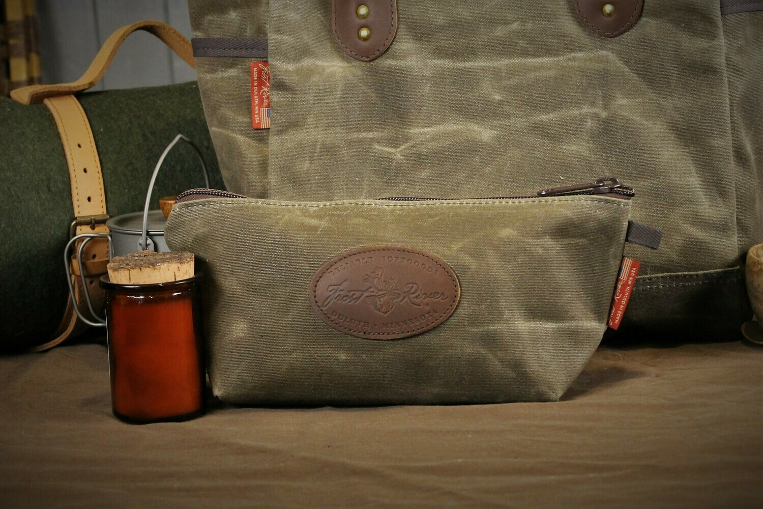Large Accessory Bag ~ Frost River