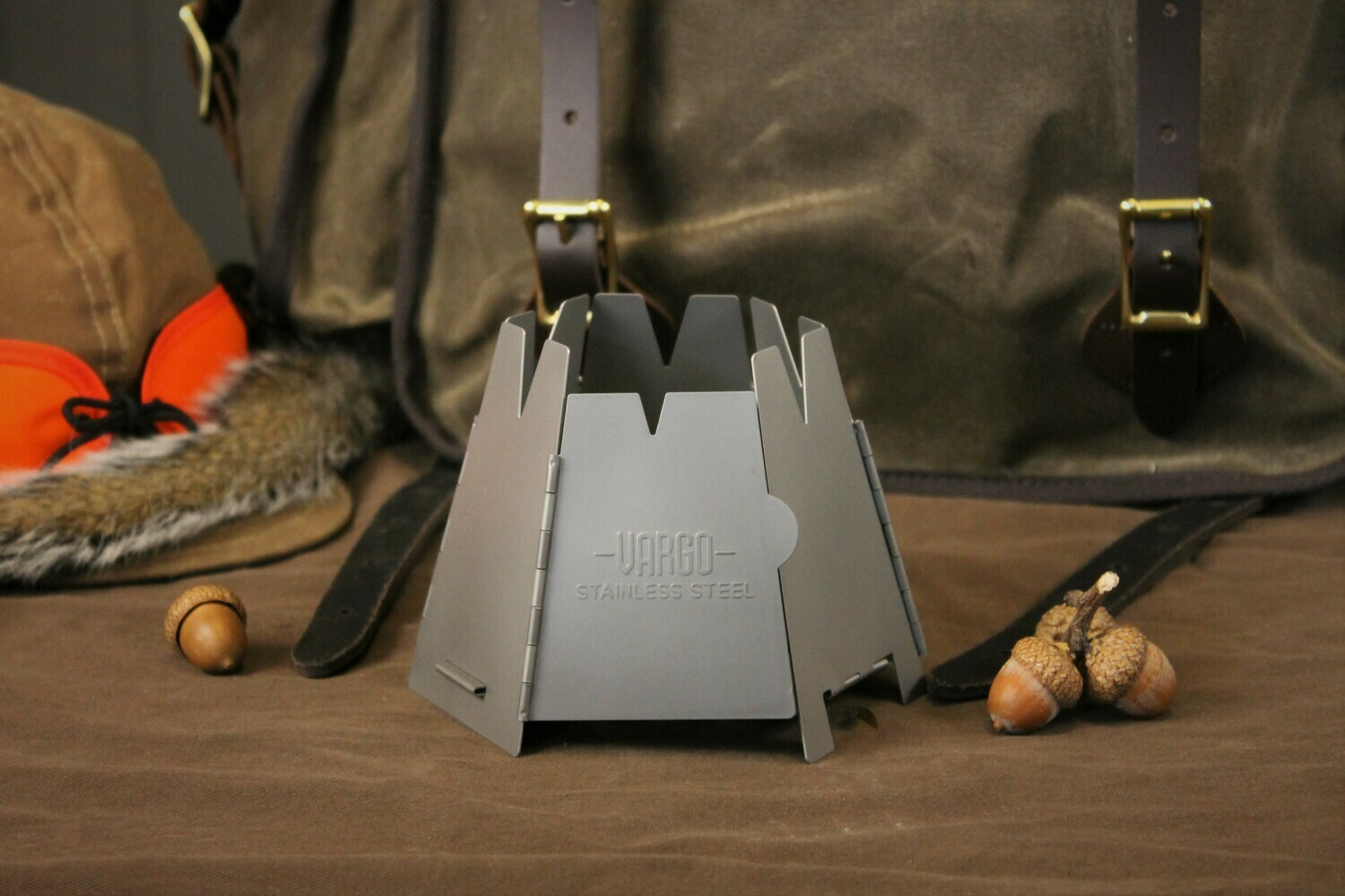 Hexagon Stainless Steel Collapsible Stove