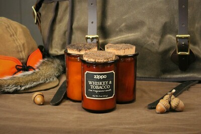 Whiskey and Tobacco Scented Candle