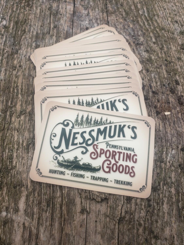 Nessmuk's Logo Sticker