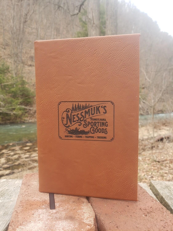 Nessmuk Leather Notebook