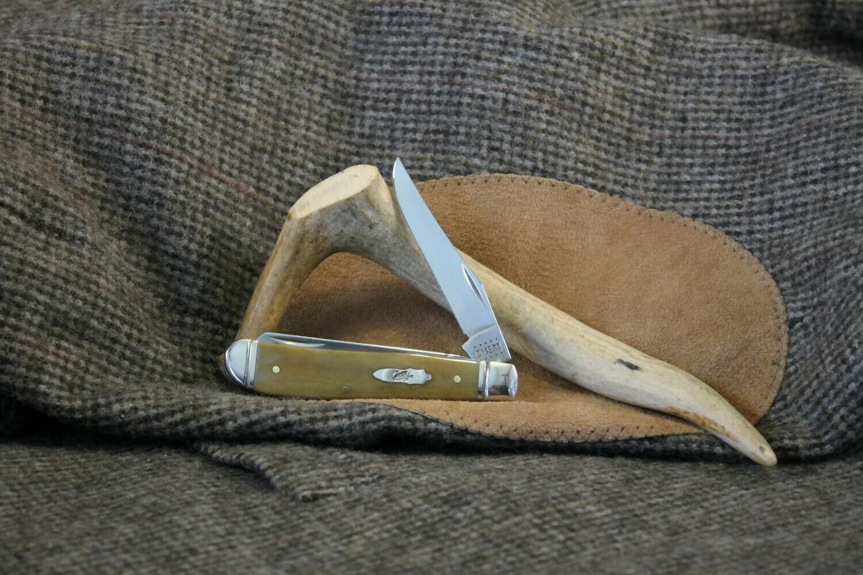 Case Cutlery Mini Trapper with Antique Bone