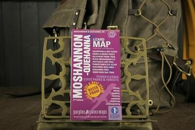 Moshannon & Quehanna PA State Forest Purple Lizard Map