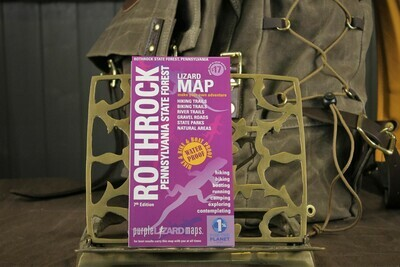 Rothrock PA State Forest Purple Lizard Map