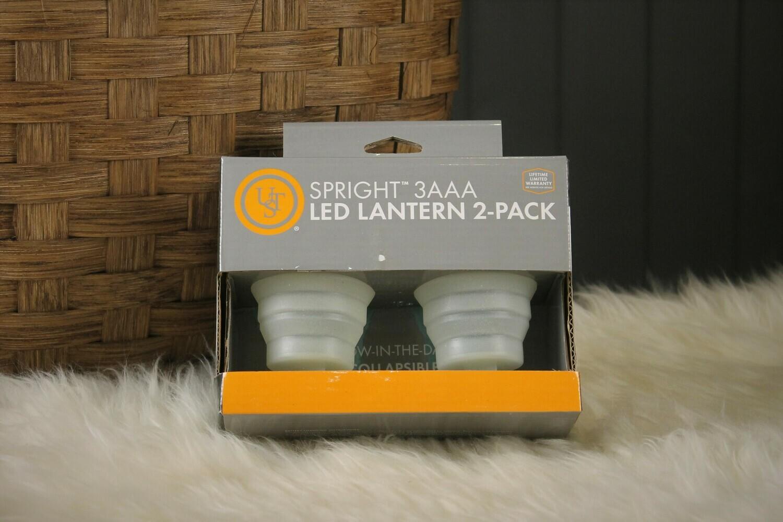 Spright 3AAA LED Lantern 2-Pack
