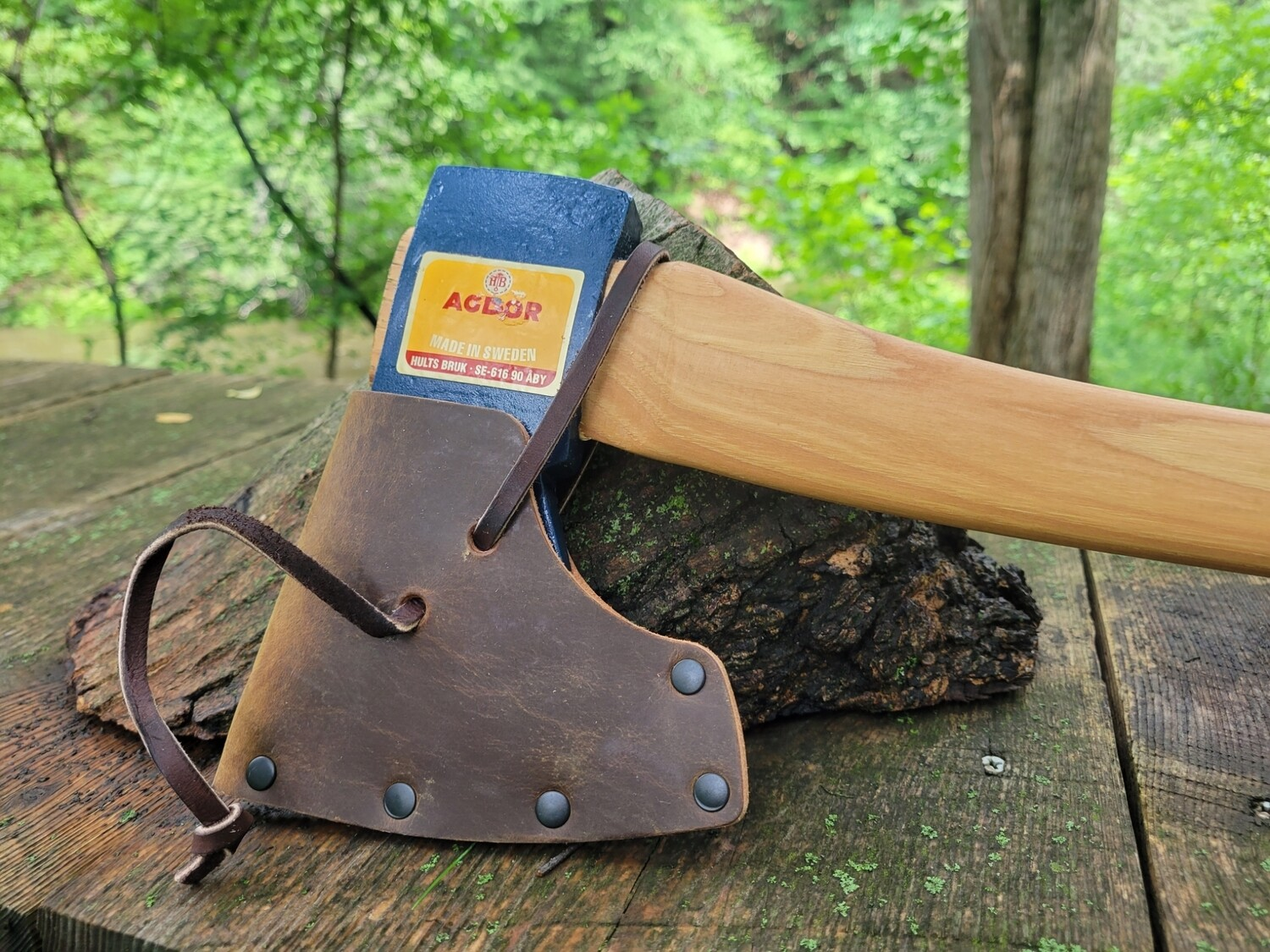 Hults Bruk Agdor 28 inch Montreal Pattern Felling Axe