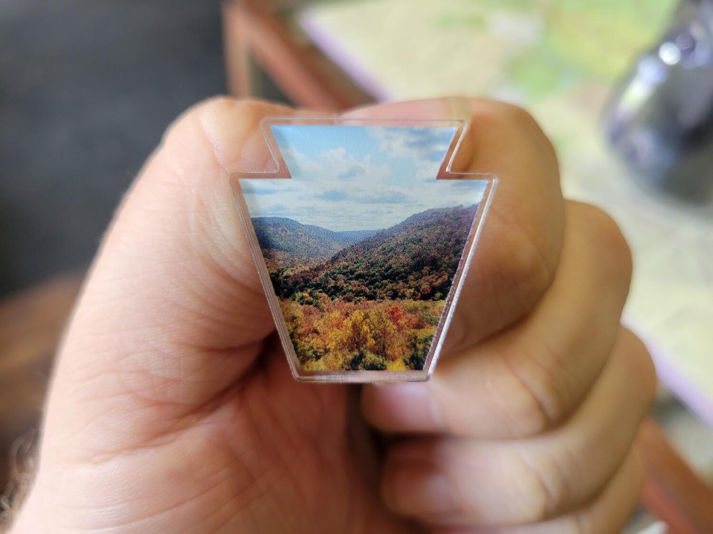 Foliage Pin, Keystone