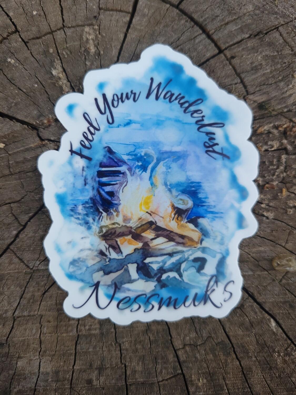 Feed Your Wanderlust Sticker